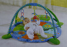 Baby Play Mat - Baby Mat - Gym - Green Turtle