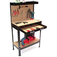 06061 Banco de trabajo 800 mesa de trabajo mesa para taller pared herramientas