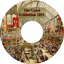 The Great Exhibition of 1851 Crystal Palace London 19 Vintage Publications on CD