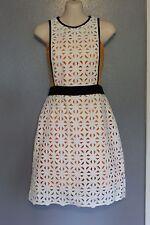 MSGM Milano Macrame A-Line Dress Bandeau Lining 42