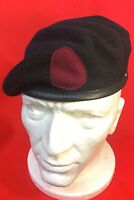 Quality Royal Army Medical Corps Beret + RAMC Cherry Badge Backing RAMC Beret