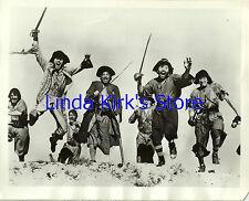 "Robert Newton Photograph And Crew ""Adventures of Long John Silver"" CBS-TV '56"