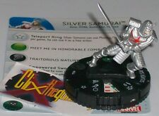 SILVER SAMURAI #044 #44 Wolverine and the X-Men Marvel Heroclix Rare