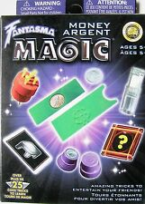 Fantasma Money Magic Kit Set 25 Tricks Instructions Crystal Coin Money Factory