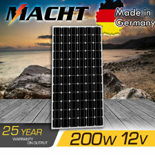 12V 200W SOLAR PANEL MONO PORTABLE CAMPING CARAVAN /POWER BATTERY OFF GRID