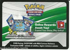2x Pokemon XY Online TCGO Codes: TWO Breakthrough Booster Pack Unused Codes!