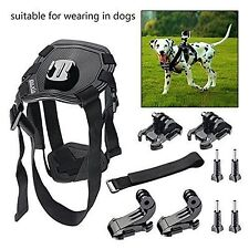 Dog Harness Chest Mount Go Pro HERO 4 3 + 3 2 Sports Camera Accessories Kit NEW