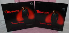 HARRY BELAFONTE The Midnight Special LPs 1962 Orig Stereo & Mono FIRST BOB DYLAN