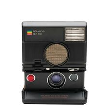 Impossible Polaroid 600 Instant Camera-SLR 680 + Color Film For 600 Gold Frame