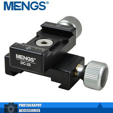 MENGS DC-25 Double 2 Mini Quick Release Clamp Suit For Arca Standard QR Plate