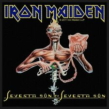 Aufnäher Iron Iron Maiden Seventh Son Of A Seventh Son Stoff (ro)