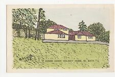 Somerset, Combe Down Holiday Home near Bath 1978 Postcard, A809