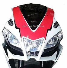 APRILIA RSV4 RSV4 R - Tabella adesiva anteriore bicolore - sticky table stickers