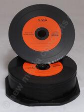 25 Orange Vinyl CD Rohlinge CD-R 700 MB Schallplattendesign von MPO