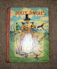 """Antique """"Jolly Jingles From Mother Goose"""" ** M A Donohue No. 170. Book"""