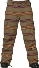 NEW $165 BURTON MENS CARGO SNOWBOARD/SKI PANTS XL
