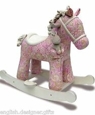 New Little Bird Told Me Pixie & Fluff Rocker - Rocking Horse Pony GIFT BOXED