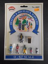Model Power O Scale Deacon & His Flock Pack (6 Figures, 1 Pulpit) - MP6069