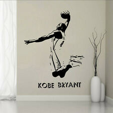 Basketball Player Bryant Star Sport Mural Wall Sticker Decal Boy Kids Room Decor