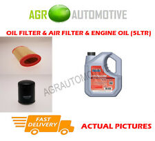 DIESEL OIL AIR FILTER KIT + FS 5W40 OIL FOR PEUGEOT 106 1.5 58 BHP 1996-99