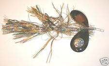 Musky Mayhem Double Cowgirl Bucktail Musky Pike Lazer Shad Lure Inline