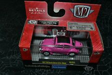 M2 MACHINES AUTO THENTICS 1967 VW BEETLE DELUXE U.S.A. MODEL PINK SERIES MJS03