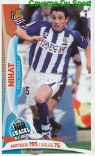 069 NIHAT TURKEY REAL SOCIEDAD STICKER 100 CRACKS DEL JUGON 2005-2014 PANINI