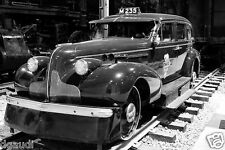 1939 Buick rail car Canadian Pacific RR 8 x 10 Photograph