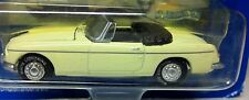 MGB 1969 Pale Primrose Yellow WHITE LIGHTNING MODEL Black RHD Inside 1:63 MG MGB
