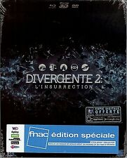 Divergente 2: L'insurrection FNAC Special Edition Debossed SteelBook (France)