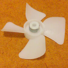 2-1/2 inch diameter Plastic Fan Blade/Propeller. 3/16 inch bore. CW Rotation.