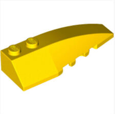 LEGO Right Shell 2x6 W/bow/angle(41747)_ Bright Yellow  _4271084(Lot of 1)