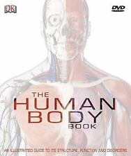 The Human Body Book by Steve Parker New Hardcover w/o DVD-Rom FREE SHIPPING!