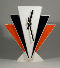 Echo de deco art deco style céramique manhattan mantel clock