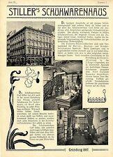 Carl Stiller Berlin Jerusalemer Strasse 40 Das Schuhwarenhaus Verkaufslokal 1899