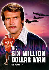 The Six Million Dollar Man: Season 4 DVD, Richard Anderson, Lee Majors,