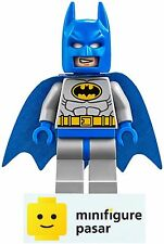 sh111 Lego DC Super Heroes SDCC 10724 10672 - Batman Blue Minifigure - New