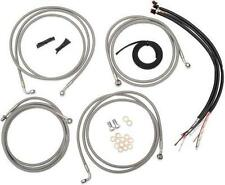 LA Choppers Mini Ape Hanger Vinyl Cable Wiring Kit 08-13 Harley Touring ABS