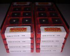10 pcs. Sandvik R245-12 T3 E-AL H10 milling inserts R245-12T3E-AL R245