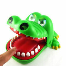 Kids Cute Crocodile Mouth Dentist Bite Finger Game Funny Family Toys Gifts