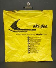 "Vintage Ski Doo Snowmobile Cover Plastic Bag Advertising 17 1/2"" x 16 1/2"""