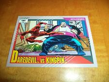 Daredevil vs. Kingpin # 126 - 1991 Marvel Universe Series 2 Impel Base Card