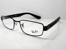 NEW Authentic Ray Ban RB 6318 2509 Black 54mm RX Eyeglasses