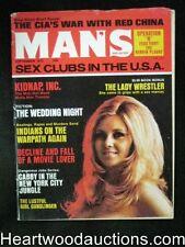 """""""Man's"""" Sep 1972 Lady Wrestler Herion/ Belle Starr"""