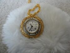 Vintage North Star 17 Jewels Incabloc Wind Up Necklace Pendant Watch