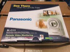 PANASONIC BL-C111 Pan-tilt RETE RJ-45 IP Security Camera CCTV  INDOOR NEW NUOVO