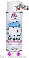 "PET GROOMING ""BABY POWDER"" PRO Aerosol Spray Cologne&Deodorant PERFUME DOG CAT"