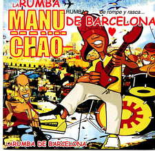 MANU CHAO (Mano Negra) -  Rumba de Barcelona - CD Single - Promo