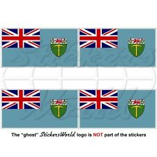 RHODESIA Rhodesian Flag 1964-1968 Vinyl Decals, Bumper-Helmet Stickers 50mm x4