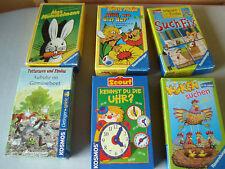 Reisespiele ღღ Spiele Paket ღღ Mitbringspiele ღღ Lernspiele, 6 Spiele, wie neu!!